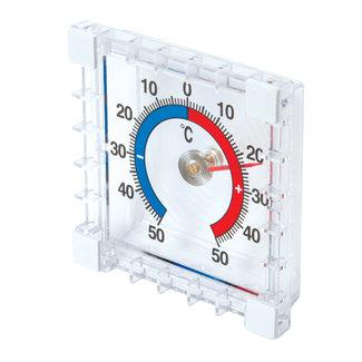 Silverline Binnen/buiten opplakthermometer -50 °C tot +50°C
