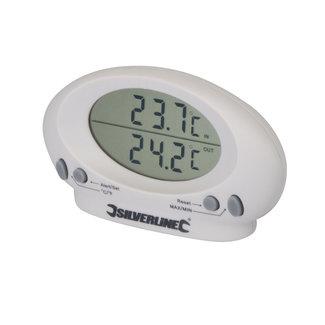 Silverline Binnen/buiten thermometer -50°C tot + 70°C