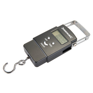 Silverline Elektronische zakweegschaal 50 kg