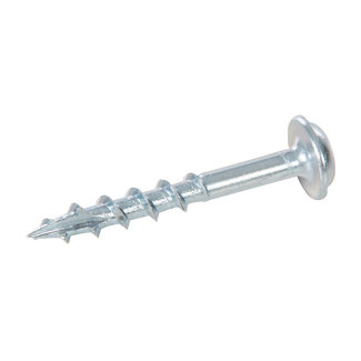 """Triton Zinken pocket boring schroeven met sluitring kop, grof P/HC 8 x 1-1/4"""" 500 pk"""