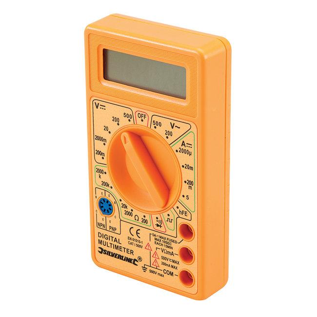 Silverline Digitale multimeter AC en DC