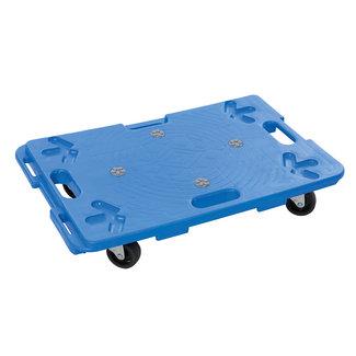 Silverline In elkaar grijpende en vergrendelende plastic platformtrolley 100 kg