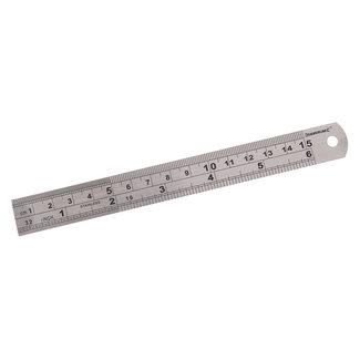 Silverline Stalen liniaal 150 mm