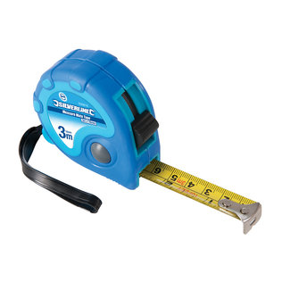 Silverline Measure Mate' rolmaat 3 m x 16 mm