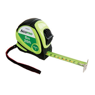 Acupro Rolmaat 8 m x 25 mm