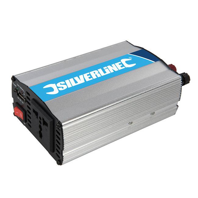 Silverline 12 V omvormer 300 W (enkel contact)