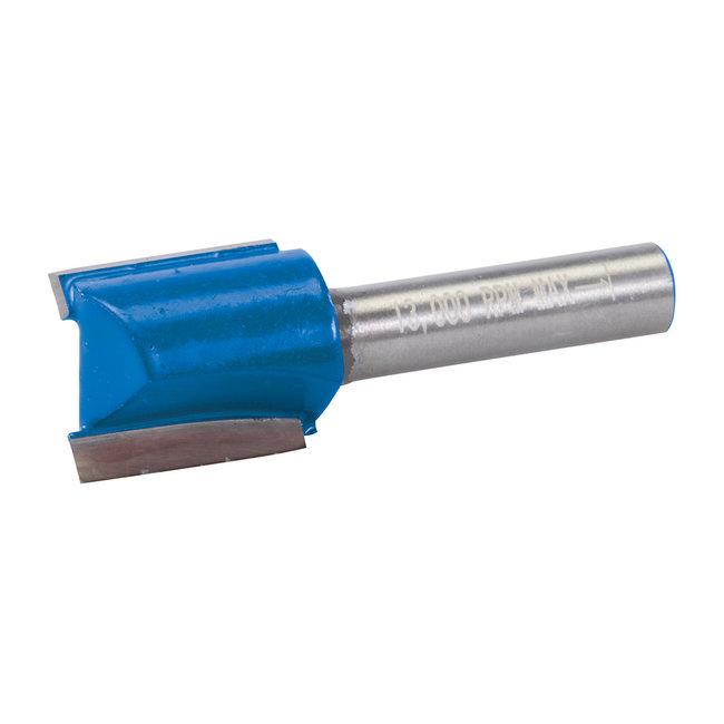 Silverline 8 mm rechte metrische groeffrees 18 x 20 mm