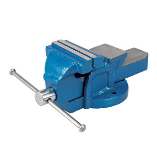 Silverline Ingenieurs bankschroef, 100 mm Kaak capaciteit 120 mm, 4,5 kg