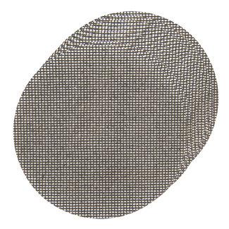 Silverline Klittenband gaas schuurschijven, 225 mm, 10 pak 4 x 40, 4 x 80G, 2 x 120 korrelmaten