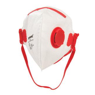 Silverline Plat vouwbaar FFP3 stofmasker, enkel gebruik FFP3, enkel gebruik