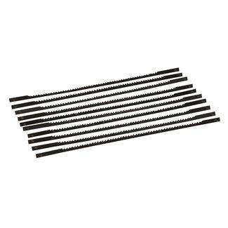 Silverline 130 mm figuurzaagmachine bladen, 10 pak 14 tpi