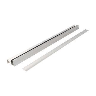Fixman Tocht en regen profiel voor deuren, 914 mm Zilverkleurig