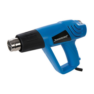 Silverline 2000 Watt verstelbaar heteluchtpistool 550 °C