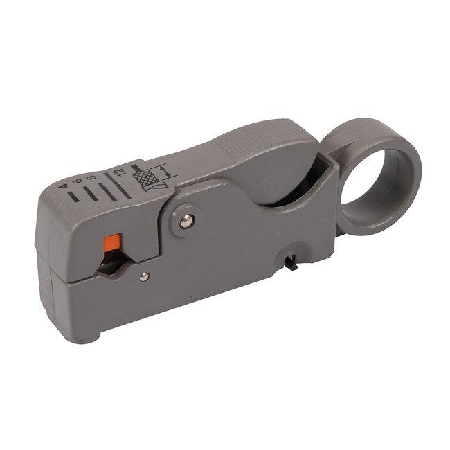 Silverline Coaxiale kabelstripper 100 mm
