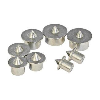 Silverline 8 delige centreerpunt set 6 - 12 mm