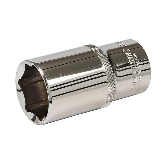 """Silverline Diepe zeskantige 1/2"""" metrische dop 30 mm"""