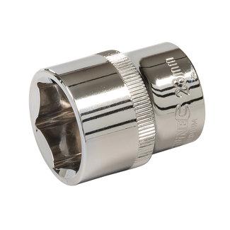 """Silverline Zeskantige 1/2"""" metrische dop 23 mm"""