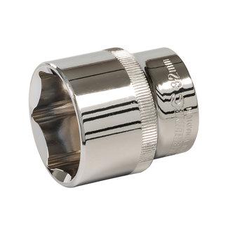 """Silverline Zeskantige 1/2"""" metrische dop 32 mm"""