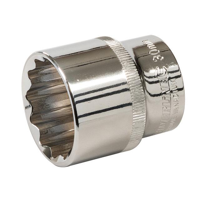 """Silverline 1/2"""" metrische zeskantdop 30 mm"""