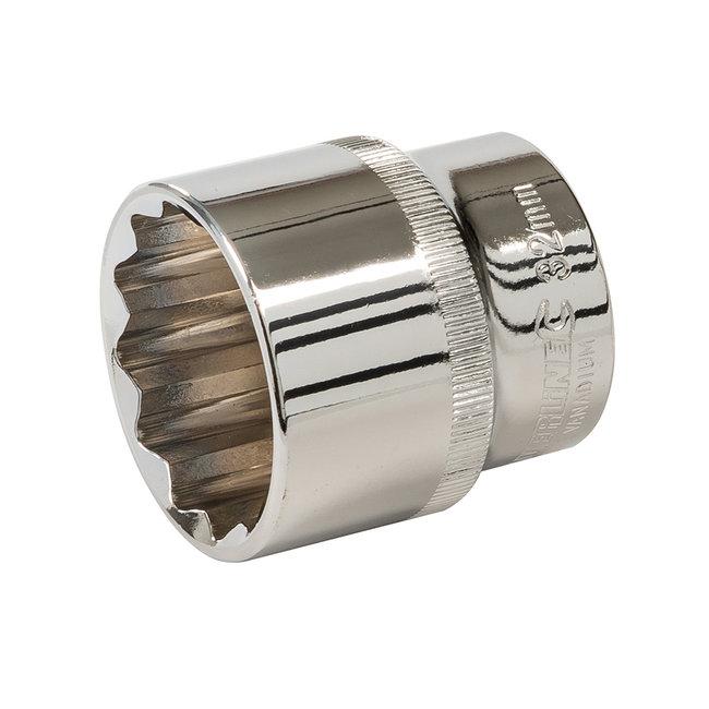 """Silverline 1/2"""" metrische zeskantdop 32 mm"""