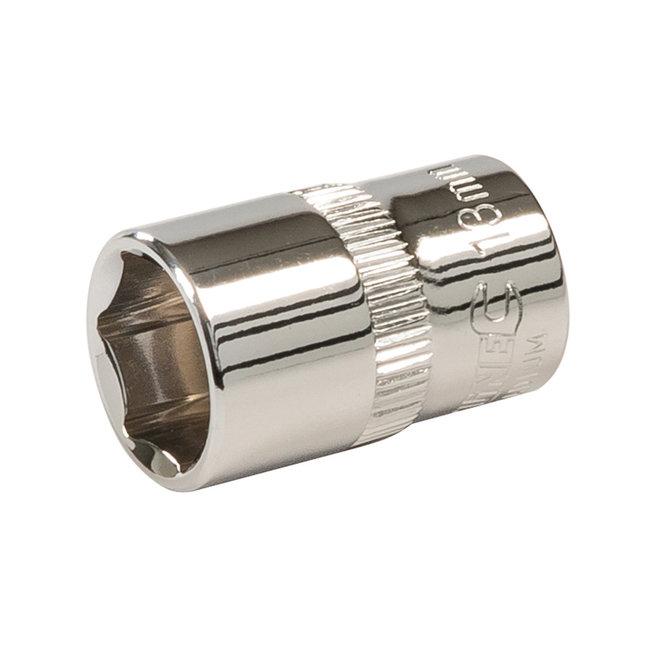 """Silverline Zeskantige 3/8"""" metrische dop 13 mm"""