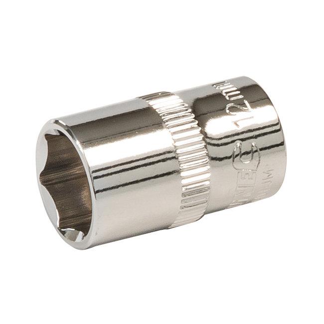 """Silverline Zeskantige 3/8"""" metrische dop 12 mm"""