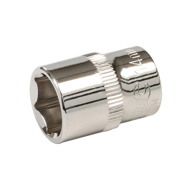 """Silverline Zeskantige 3/8"""" metrische dop 14 mm"""
