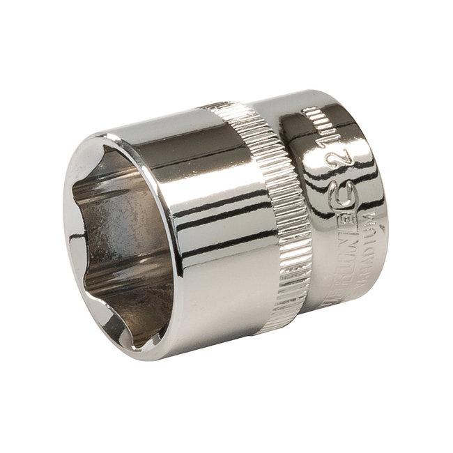 """Silverline Zeskantige 3/8"""" metrische dop 21 mm"""