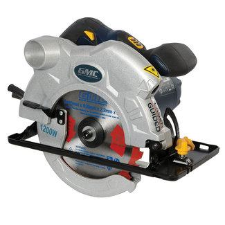 GMC 165 mm cirkelzaag 1200 watt