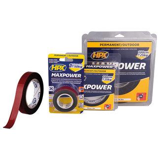 HPX Max Power Outdoor bevestigingstape - zwart