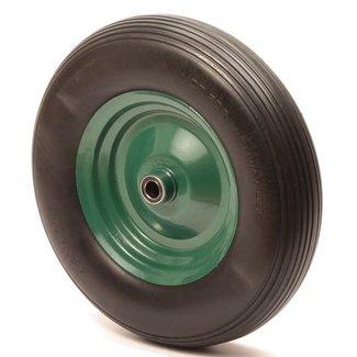 Anti Lek Kruiwagenwiel 4.80 / 4.00-8 - Groen/Zwart - Zonder as