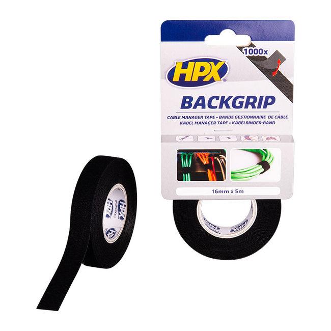 HPX Backgrip kabelbinderband 16 mm x 5 meter