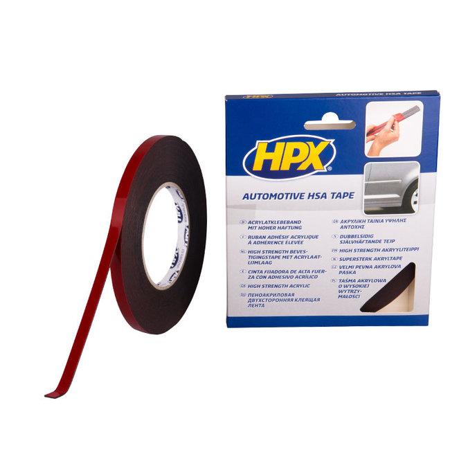 HPX Dubbelzijdige HSA bevestigingstape antraciet