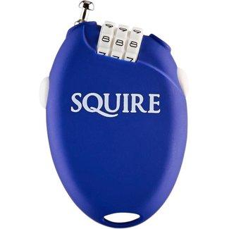 Squire sloten Kabelcijferslot Retrac 2 kleur blauw