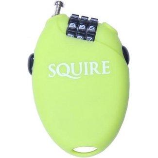 Squire sloten Kabelcijferslot Retrac 2 kleur lime groen