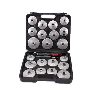 Weber Tools Oliefilterdoppen set 23 delig aluminium