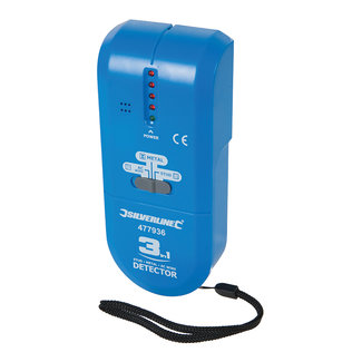 Silverline 3-in-1 detector, compact