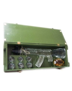 Red Army Vodka AK-47 Giftset