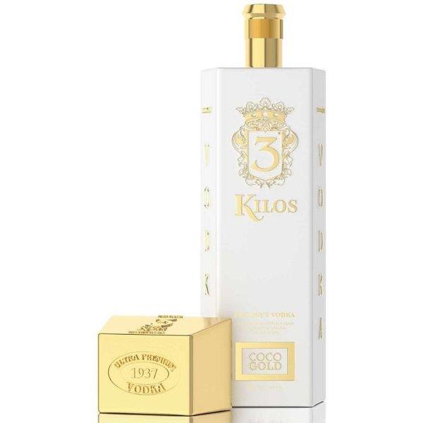 3 Kilos Vodka Vodka Coco Gold 70CL