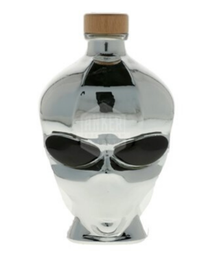 Outer space Alien Head Chrome 70CL