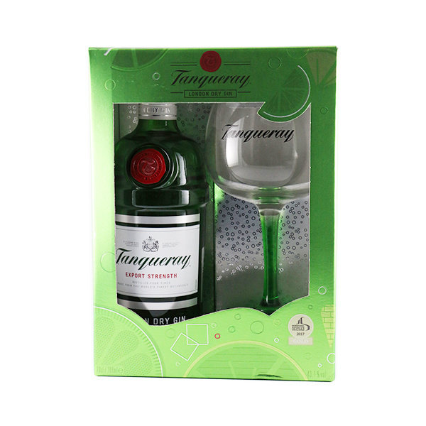 Tanqueray Gin  Glass pack