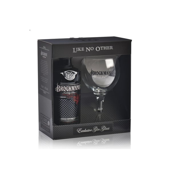 Brockmans Premium Gin Giftpack 70CL
