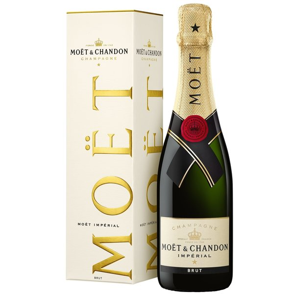 Moët & Chandon Brut Imperial in giftbox 37,5CL