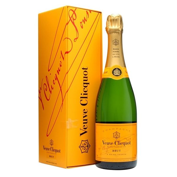 Veuve Clicquot Ponsardin Brut in giftbox 37,5CL