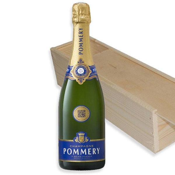 Pommery Brut Royal in houten geschenkkist 75CL