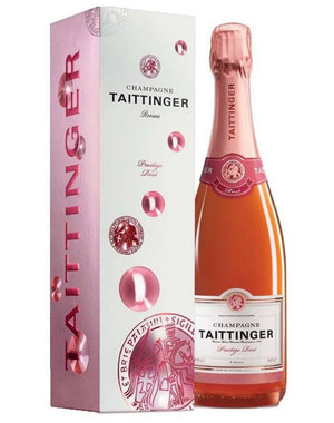 Taittinger Prestige Rosé Brut 75CL in Giftbox