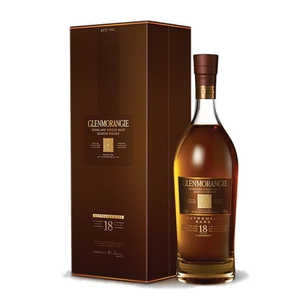 Glenmorangie 18 Years Old 70CL Single Malt Scotch Whisky in Giftbox