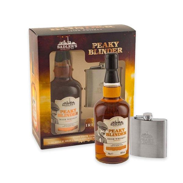 Sadlers Peaky Blinders Irish Whisky in Giftbox- 70cl