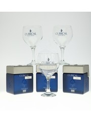 Cubical Ultra Premium Gin + 3 Glasses + 3 Bottles