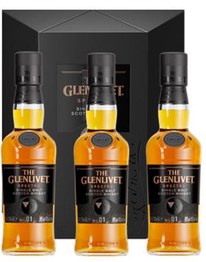The Glenlivet Spectra (3x20CL Bottles) + GB